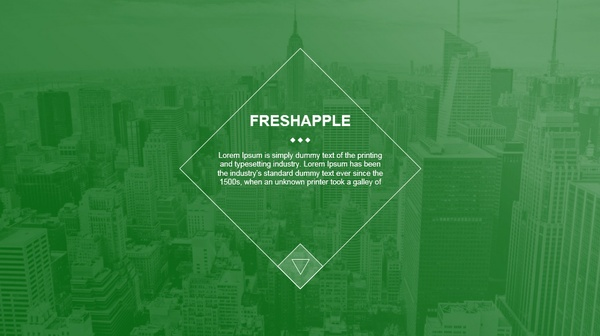 Fresh-Apple PowerPoint Presentation Template