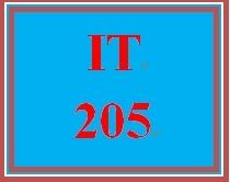 IT 205 Week 4 Week Four Knowledge Check