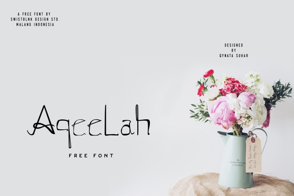 Aqeelah Free Font