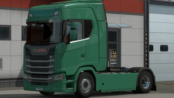Scania New Gen (SCS): Carénages Lisses
