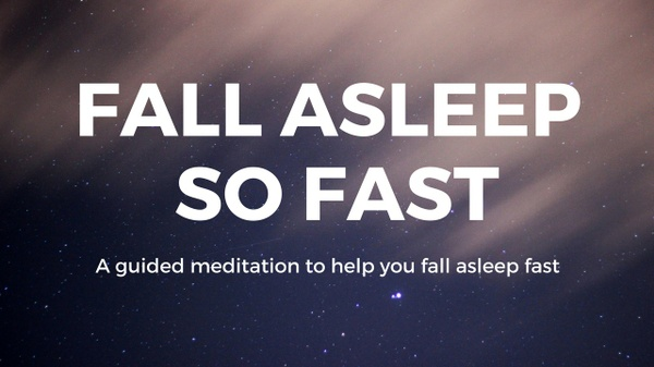 FALL ASLEEP So FAST A SIMPLE meditation to help you fall asleep fast