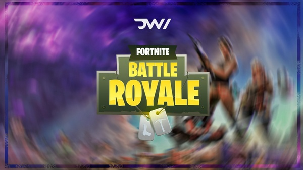 LOGO FORTNITE BATTLE ROYALE | DVNI