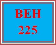 BEH 225 Week 9 Careers in Psychology