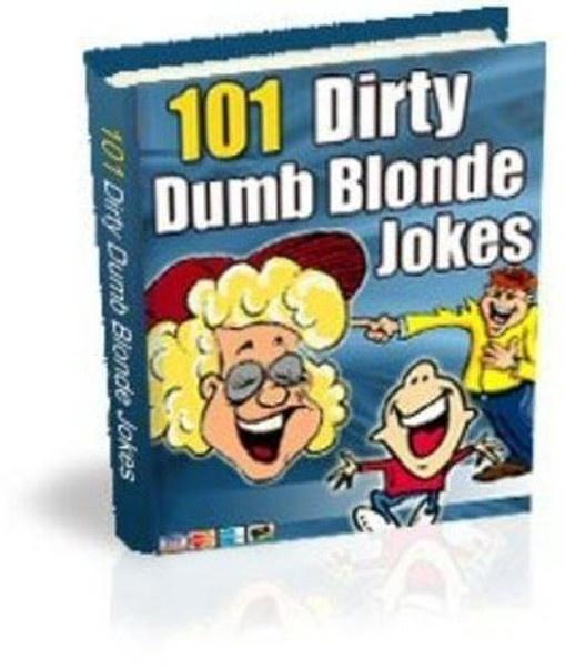 101 Dirty Dumb Blonde Jokes PDF