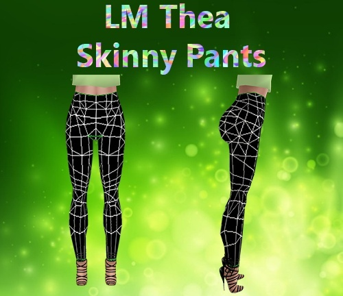 Thea Skinny Pants Mesh Catty Only!!!