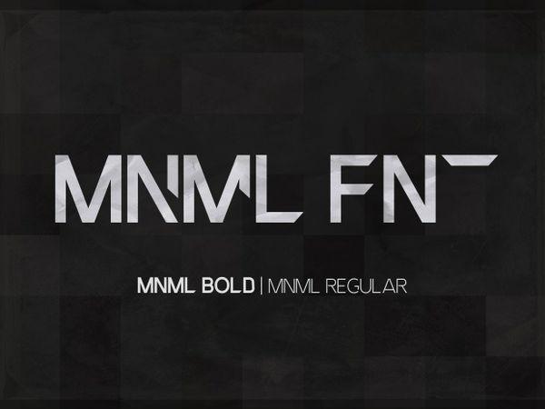 MNML FNT Font Family