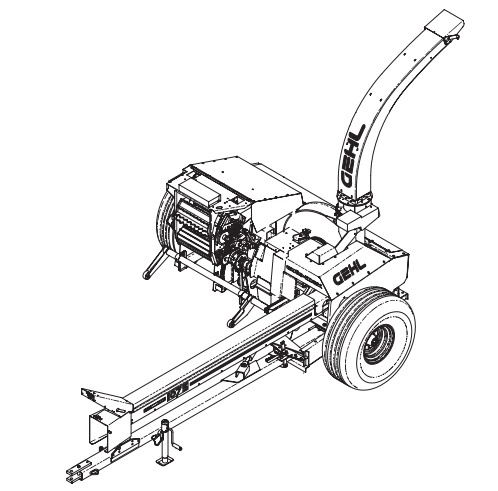 GEHL 1075 Forage Harvester Parts Manual