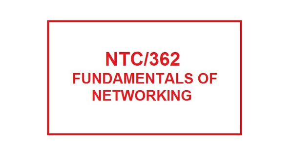 NTC 362 Week 3 Learning Team Protocol Paper