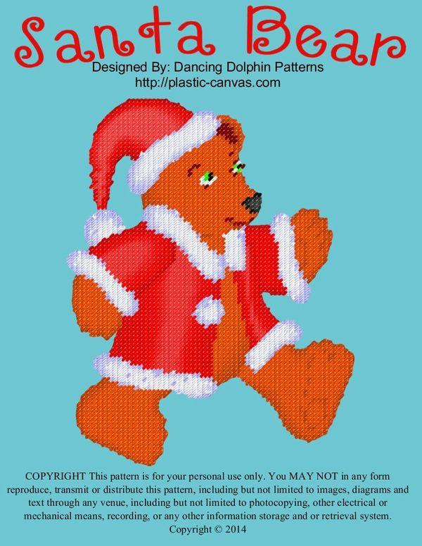 586 - Santa Bear