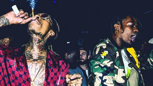 "Wiz Khalifa X Travis Scott Type Beat ""Faded"""