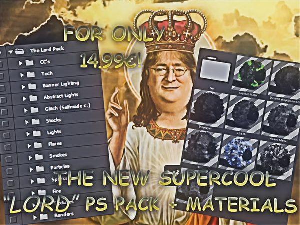The Lord PS Pack + Materials