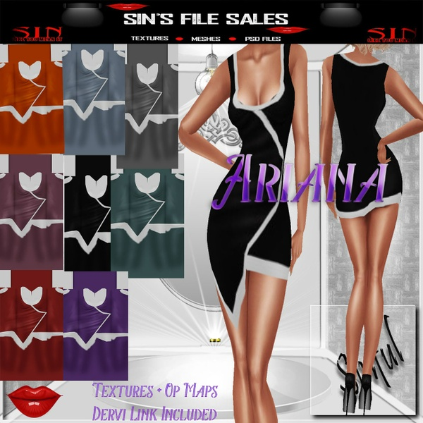 Ariana Dress *8 Colors