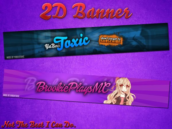 2D Banners
