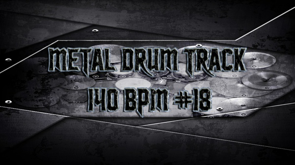 Metal Drum Track 140 BPM #18 - Preset 2.0