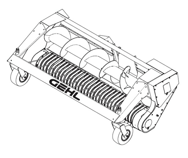 GEHL HA1240 Hay Attachment Parts Manual