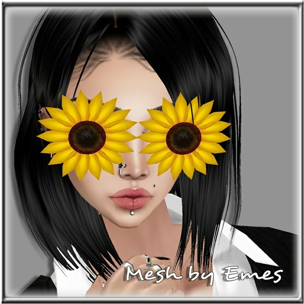 SUNFLOWER GLASSES FEMALE MESH V1