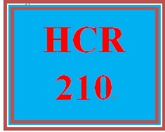 HCR 210 Week 5 Numeric Filing