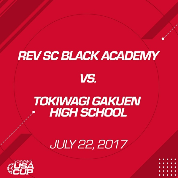 Girls U19 Gold Final - July 22, 2017 - Tokiwagi Gakuen High School vs Rev SC Academy Black