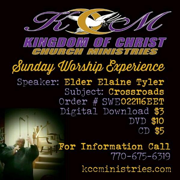 Sunday Worship Experience 02/21/16