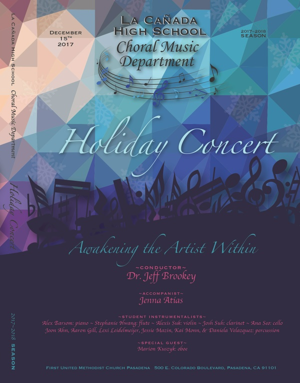 December 15, 2017 Holiday Concert