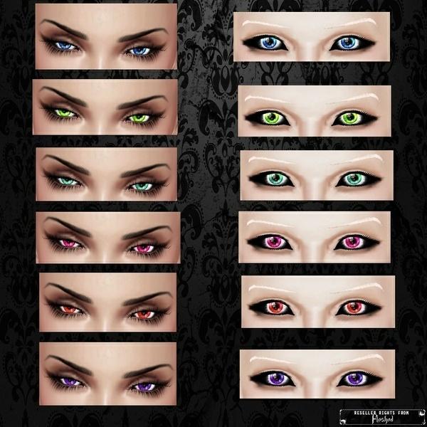 Eyes 03 / PSD & PNG.