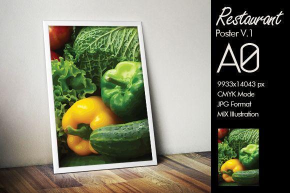 Restaurant Poster A0 v1