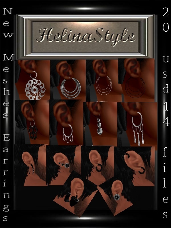 earrings meshes