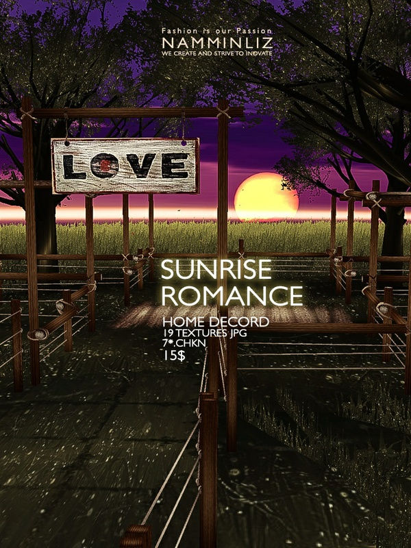 Sunrise Romance Home decor 19 Textures JPG  7 *.CHKN