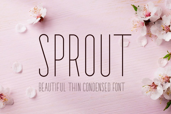 Sprout Font