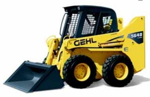 GEHL SL5640E, SL5640E (EU), SL6640E, SL6640E (EU) Skid-Steer Loader Parts Manual