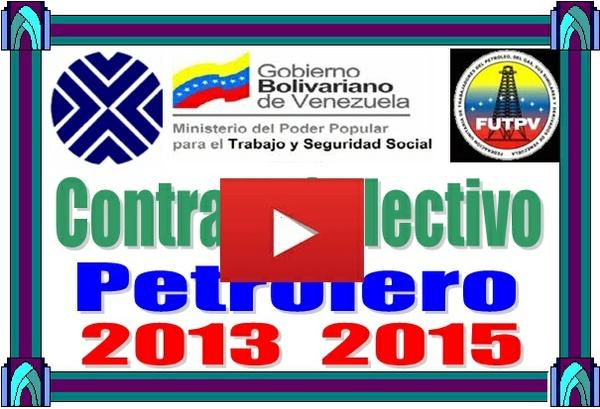 Contrato Colectivo Petrolero 2013-2015