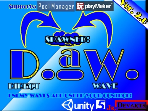 DaW (Direct-a-Wave) Enemy Spawning System for Unity3D