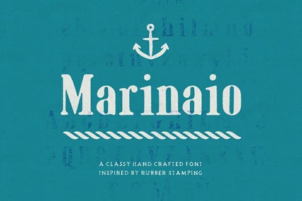 Marinaio Serif Font