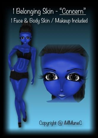 "1 ""Concern"" Belonging Skin Texture"