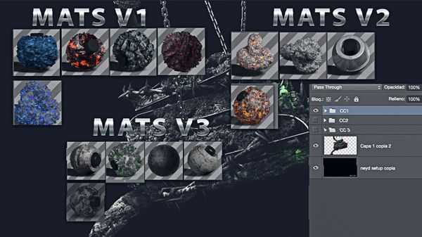 Neyd mats v1 ,v2 & v3 + Setup 3ccs and Extra render
