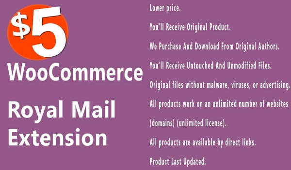 WooCommerce Royal Mail 2.5.6 Extension