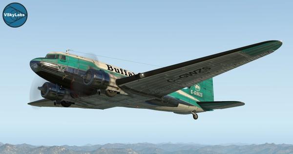 The VSKYLABS DC-3/C-47 Flying Lab Project v2.5a