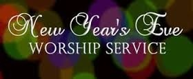 New Years Eve Service 12/31/16