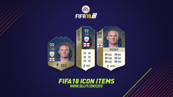 FIFA 18 ICON ITEMS