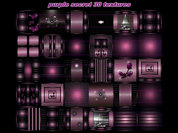 purple secret 30 textures