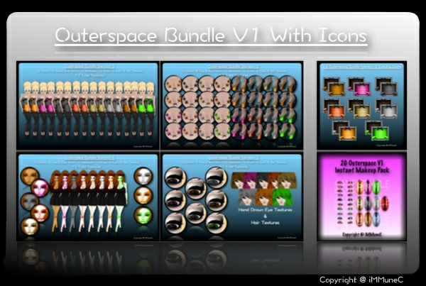 72 Outerspace Bundle (V1) + 16 Catalog Icons