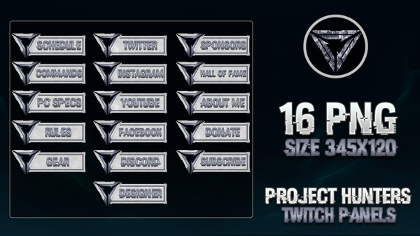 PROJECT HUNTERS - STREAM PANELS