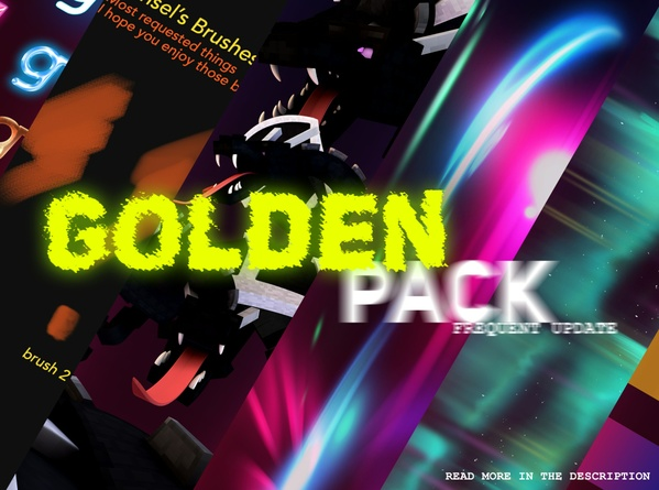 ♥ Golden Graphics pack by Hansel