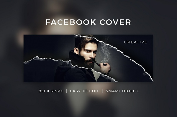 Creative Facebook Cover V11