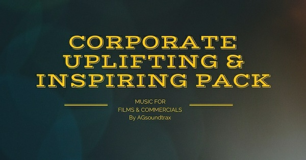 Uplifting & Inspiring Corporate Pack (Special Selly Sale)
