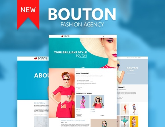 Bouton - Fashion and Modeling Agency Site Theme