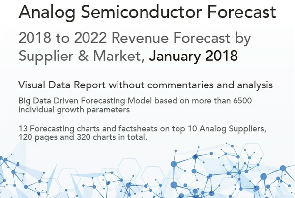 Analog Semiconductor Forecast 2018-22, January 2018