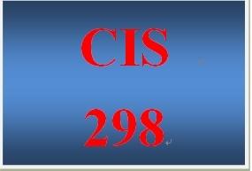 CIS 298 Week 2 Individual Organizational Structures