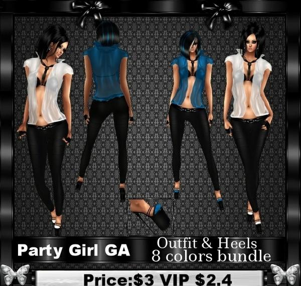 PARTY GIRL GA
