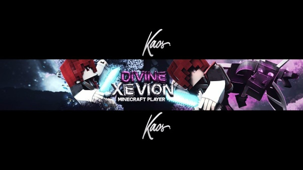 📍Cheap Minecraft Banner 3D